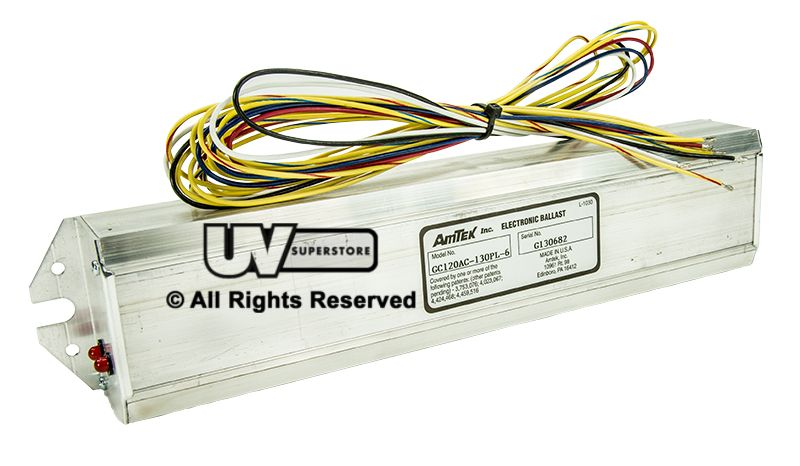 Gc120ac 130pl 6 Replacement Electronic Ballast 120v Uv