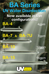 BA Series Whole House Water Disinfection